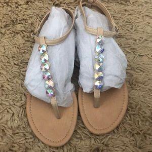 Francesca's jeweled Sandals 💎